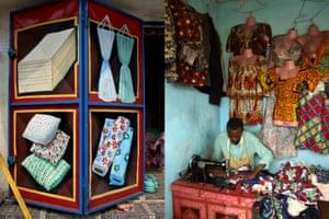 Fabric mural