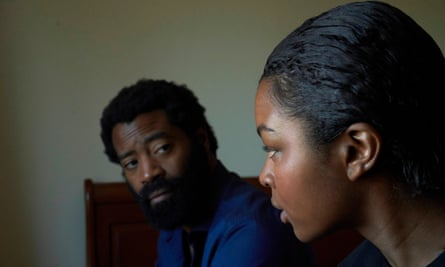 Nicholas Pinnock as Oliver and Yasmin Monet Prince as Justina in Unsaid Stories: Generational