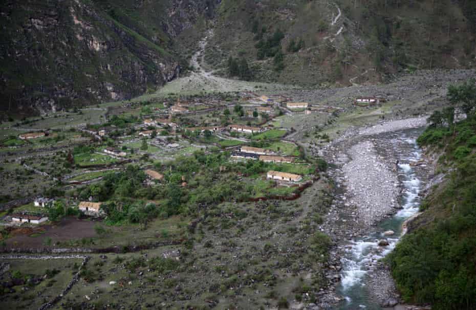 Pagna in the Nijmola valley, Uttarakhand, India.