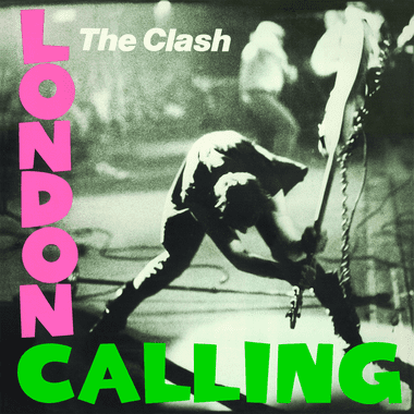 An image of the London Calling album cover
