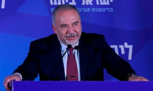 Avigdor Lieberman, leader of the Israeli secular nationalist Yisrael Beiteinu party