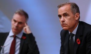 Mark Carney, the Bank of England governor.