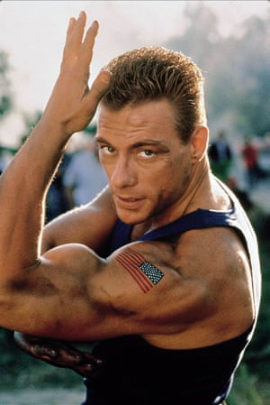 Calling in sick … Jean-Claude Van Damme as Col Guile in Street FIghter: The Movie.