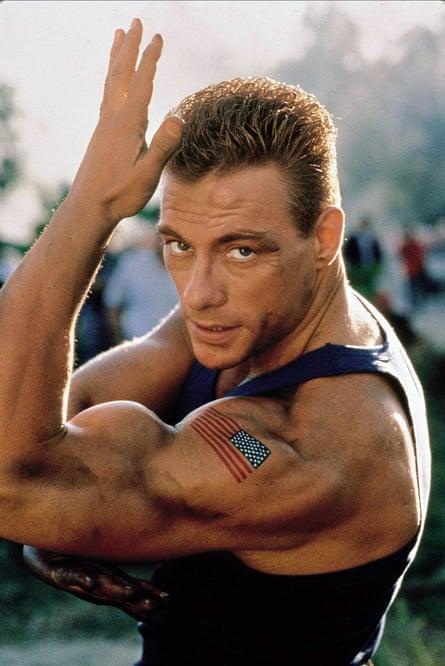 Calling in sick … Jean-Claude Van Damme as Col Guile in Street FIghter: The Movie.