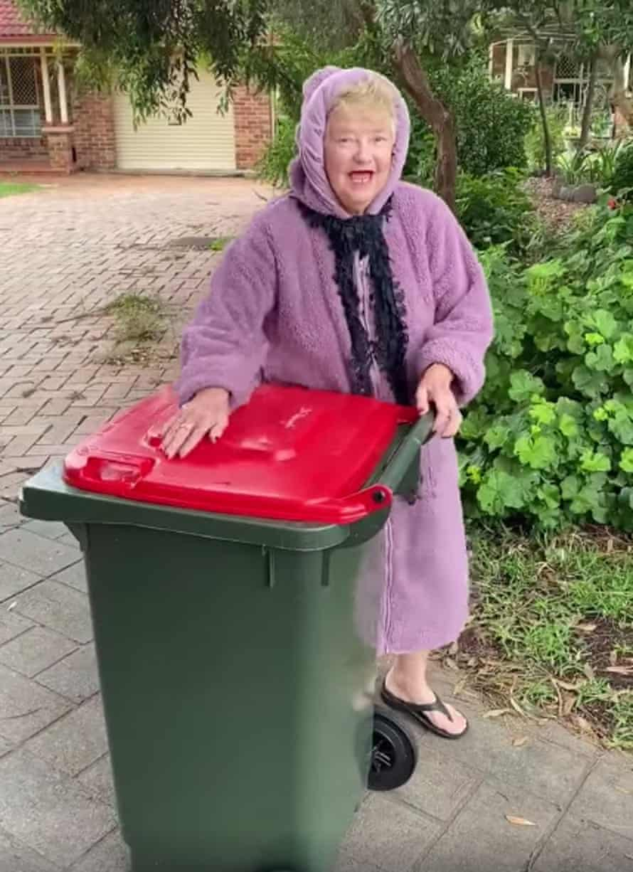 Helen Smart, who uploaded a video to the Facebook group 'Bin isolation outing'