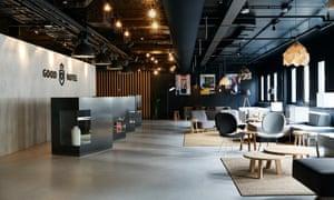 Good Hotel London - living room reception area