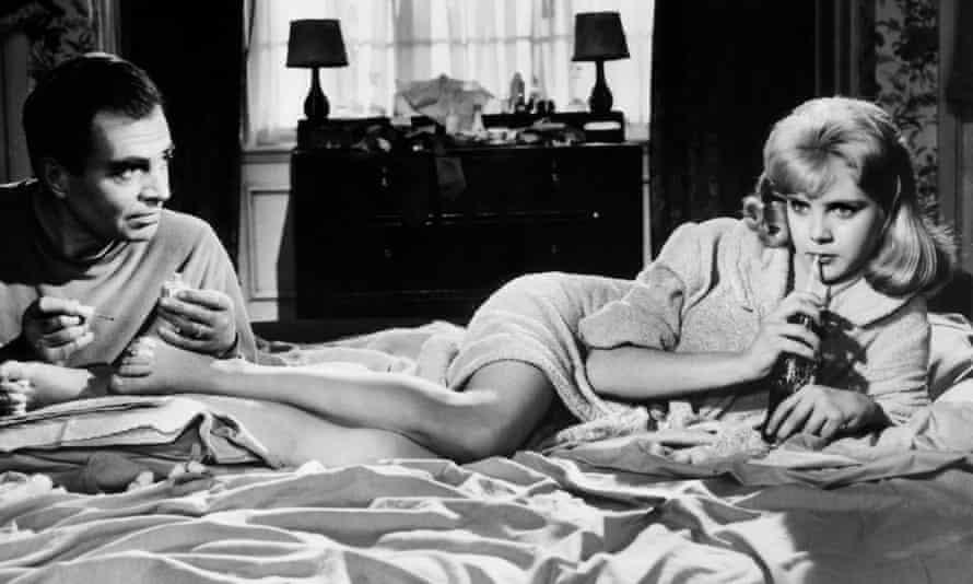 James Mason in Sue Lyon in Lolita