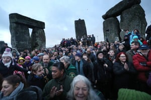 The winter solstice tends to be a quieter and gentler affair than its summer counterpart