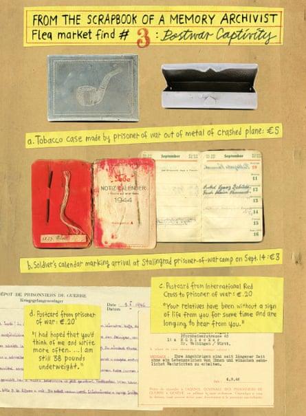 A page chroncling Krug's flea-market finds.