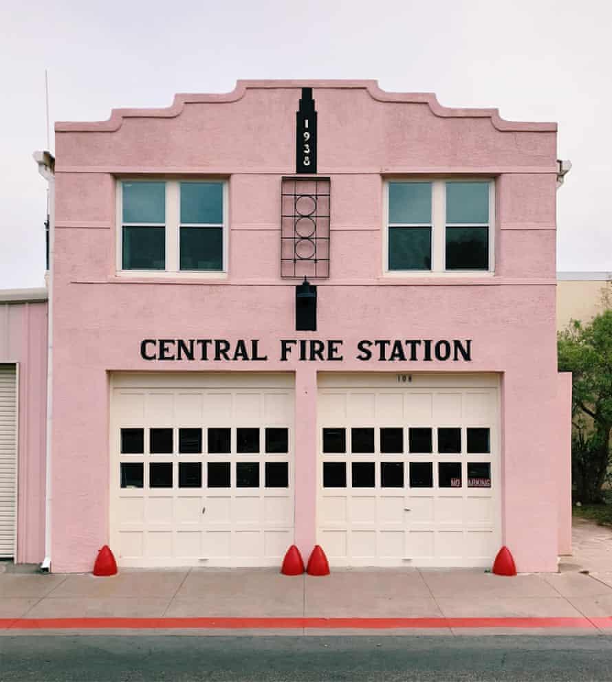 Marfa Central Fire station, Texas