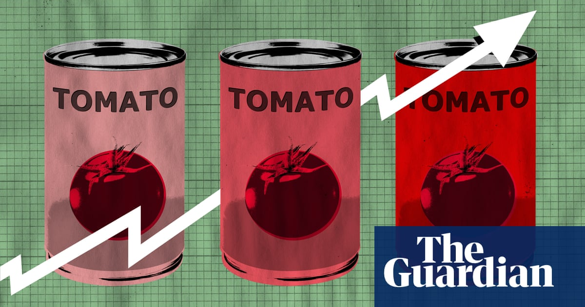 Recipe for inflation: how Brexit and Covid made tinned tomatoes a lot dearer