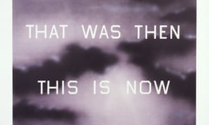 Art that seems the most objective has the most soul … Ed Ruscha, That Was Then This Is Now 2014.