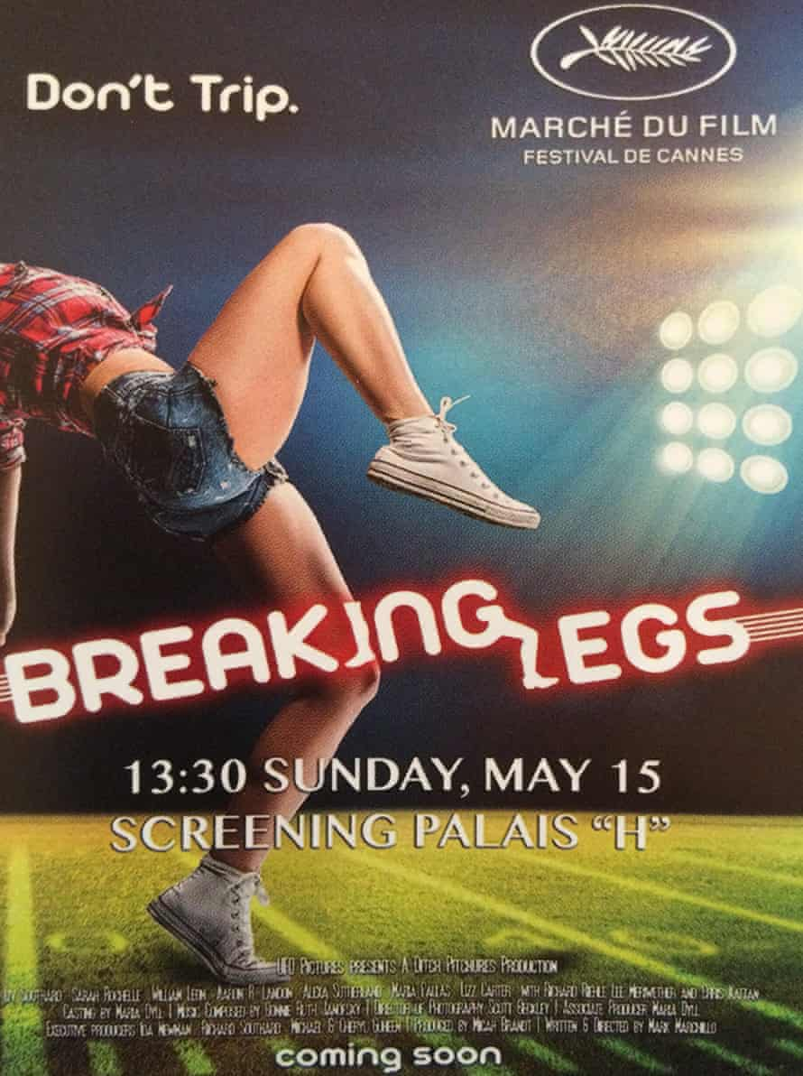 breaking legs film poster