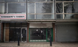 Empty shops in Walsall