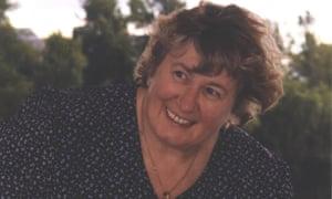 Christine Egan, seen in August 2001.