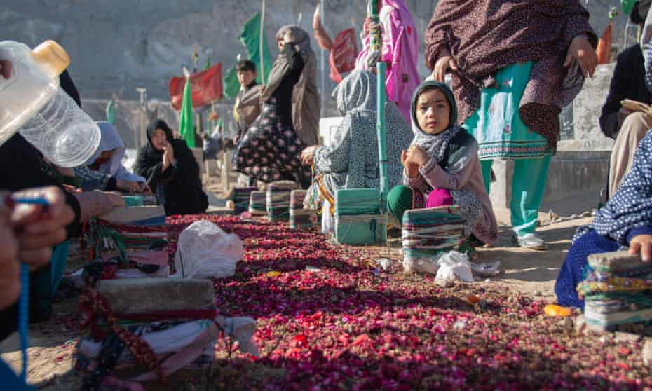 The 10 Hazara coalminers murdered by Isis were buried at Quetta's Hazara Town cemetery. At least 1,000 Hazaras have been killed in sectarian violence in the past decade.