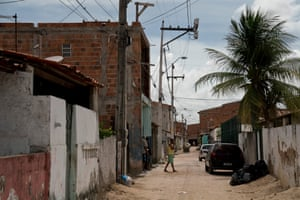 A street in Grande Bom Jardim, a low-income district of Fortaleza with one of the highest rates of youth homicides.