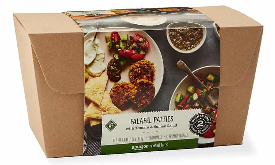 An example of Amazon's meal kit range.
