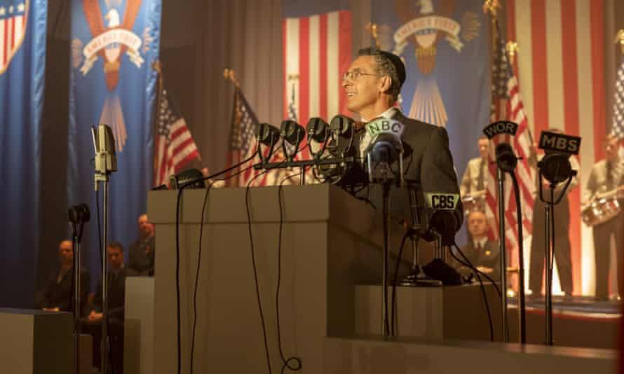 John Turturro as the southern rabbi Lionel Bengelsdorf in The Plot Against America.