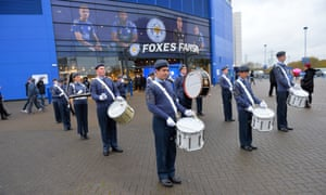 The King Power Stadium has been a lesser place without bands and entertainment outside.