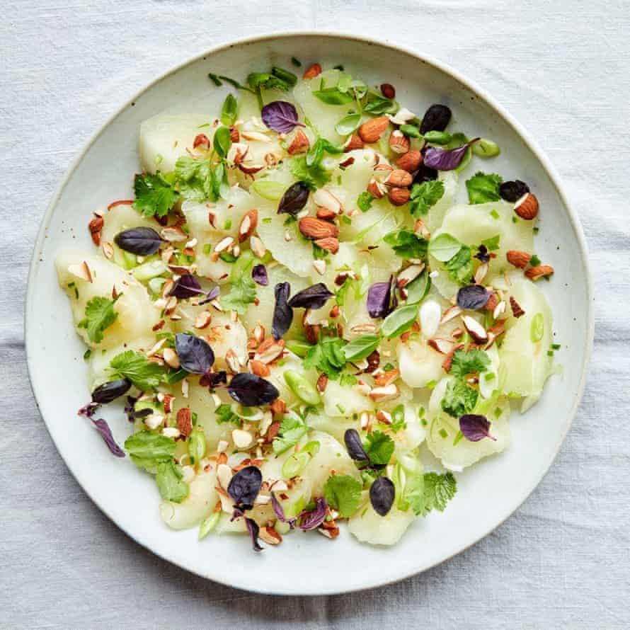 Anna Jones's honeydew and green chilli salad.