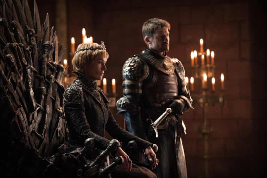 Casts a shadow over the whole TV landscape … Game of Thrones.