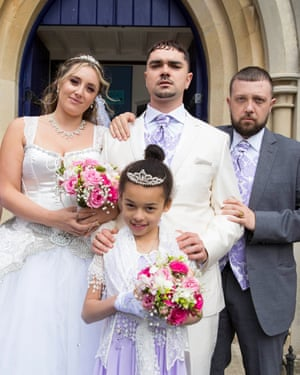 The wedding of Grindah and Miche