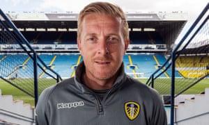 Leeds United manager Garry Monk, at Elland Road.