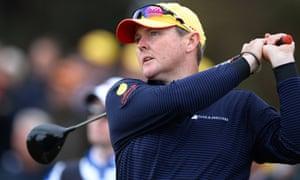 Australian golfer Jarrod Lyle