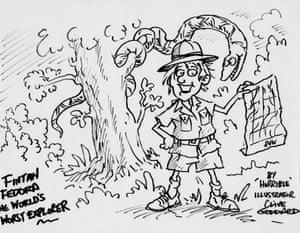 Clive Goddard's sketch