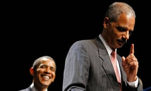 Eric Holder was the US attorney general in Barack Obama's administration.