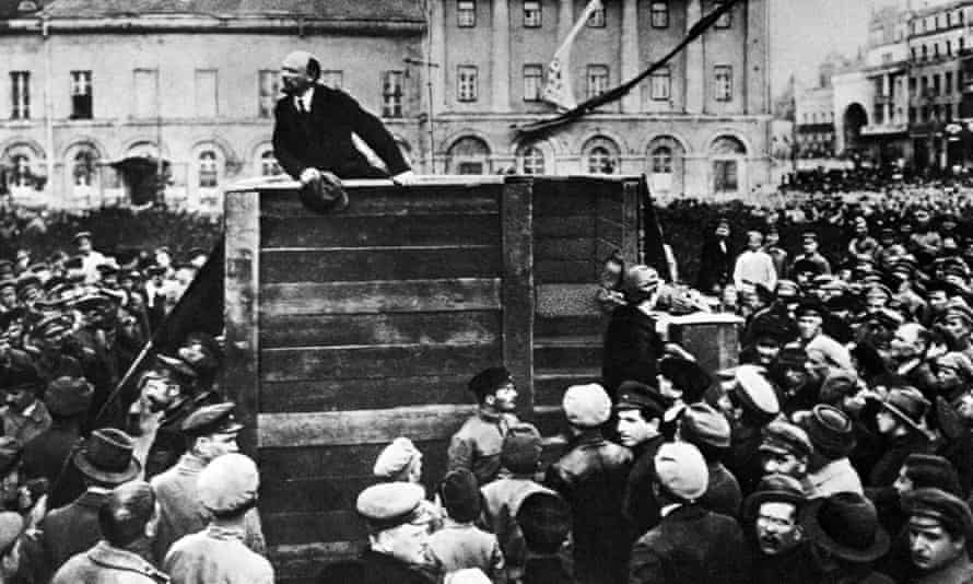 Lenin preaches to the converted in Moscow's Red Square