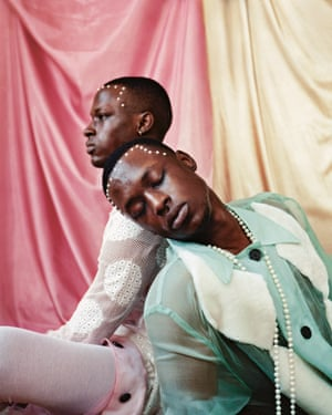 Tyler Mitchell's Untitled (Twins II), New York, 2017, first published in Dazed.