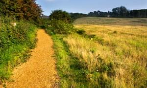 The Sailors' Path near Aldeburgh.