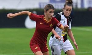 Roma's Andrine Hegerberg