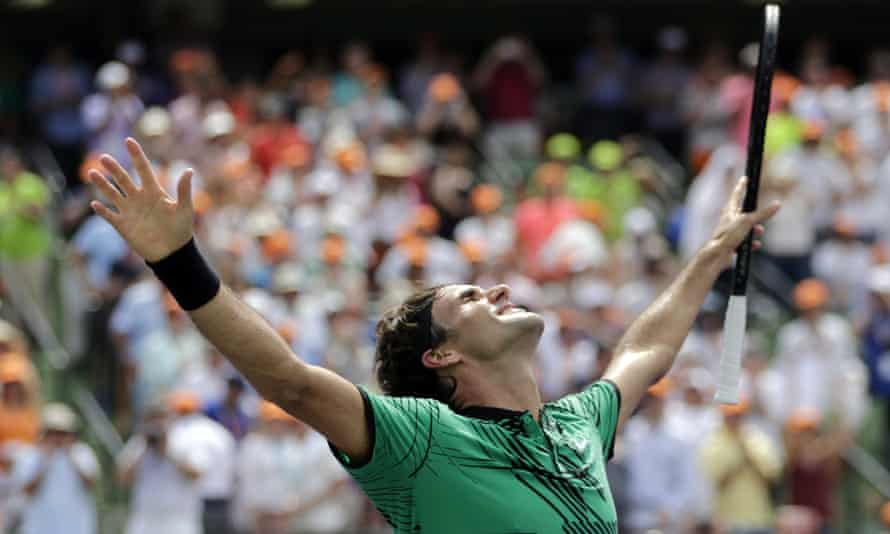 Roger Federer continued his remarkable run in 2017 with victory in Miami