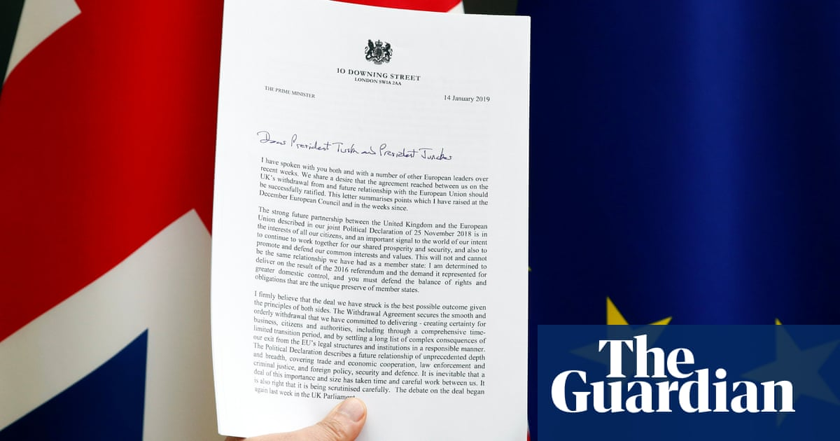 The EU and Theresa May backstop letters explained | Politics