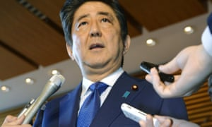 The government of Shinzo Abe has been vocal about 'unfair reporting'.