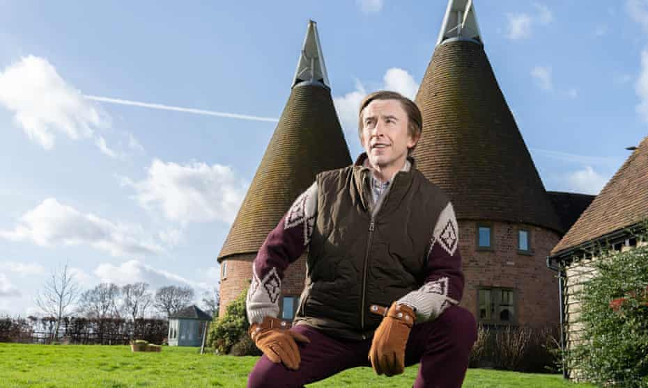 Steve Coogan returned as Alan Partridge in From the Oasthouse.