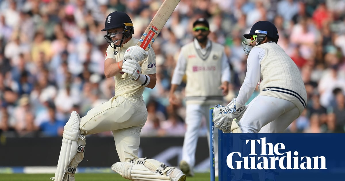Ollie Pope leads the fightback to put England on top after early collapse