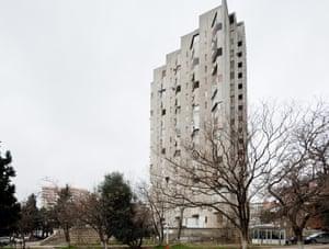 Gosstroy Residential Building, Baku, Aserbaijan, 1975