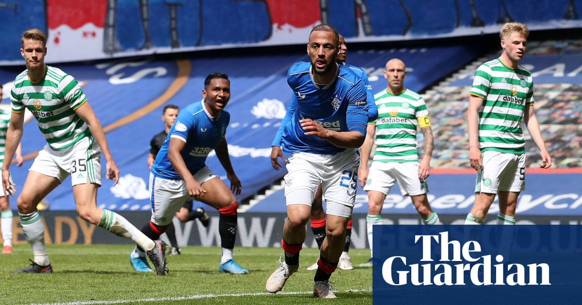 Rangers' Kemar Roofe leads the way in spanking of 10-man Celtic