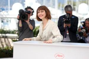 Marie-Josee Croze attends the Jury De La Cinefondation & Des Courts Metrages photocal
