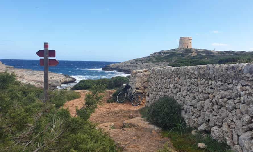 Watchtower on the Camí de Cavalls.