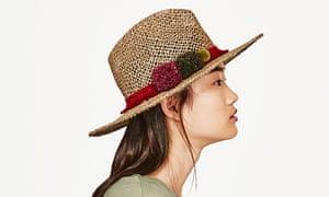 Zara sun hat