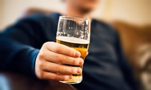 Half-full … an alcohol-free day has huge health benefits, but reduces your social contact