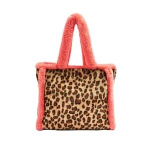 Furry leopard bag, £35, topshop.com