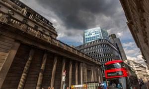 Bank of England on Threadneedle Street