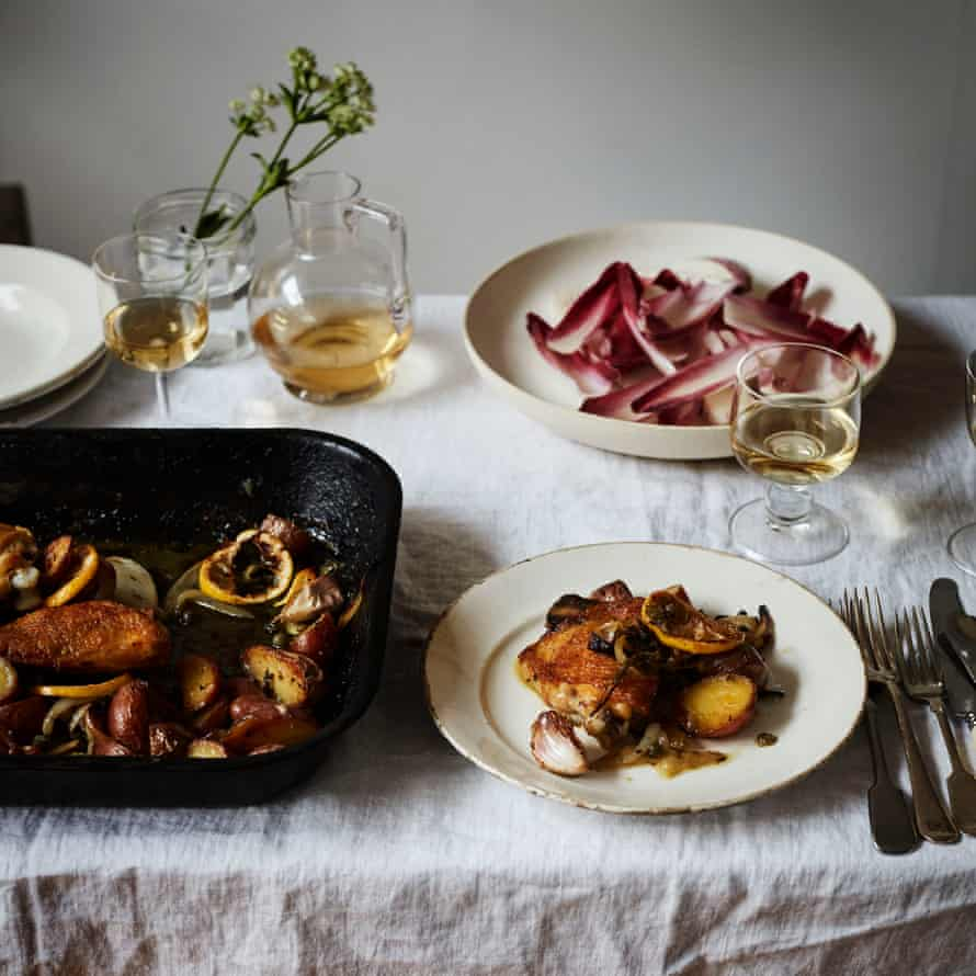 Dishes featured in From the Oven to the Table by Diana Henry.