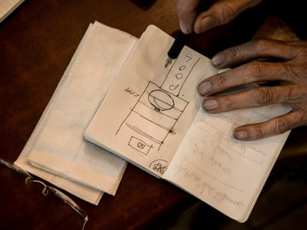 Nathan Phillips diagrams what happened on the steps of the Lincoln Memorial in Washington DC.